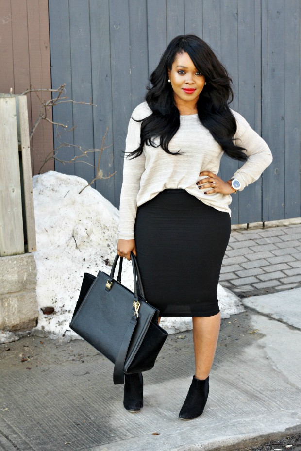 Semi formal pencil skirt outfits