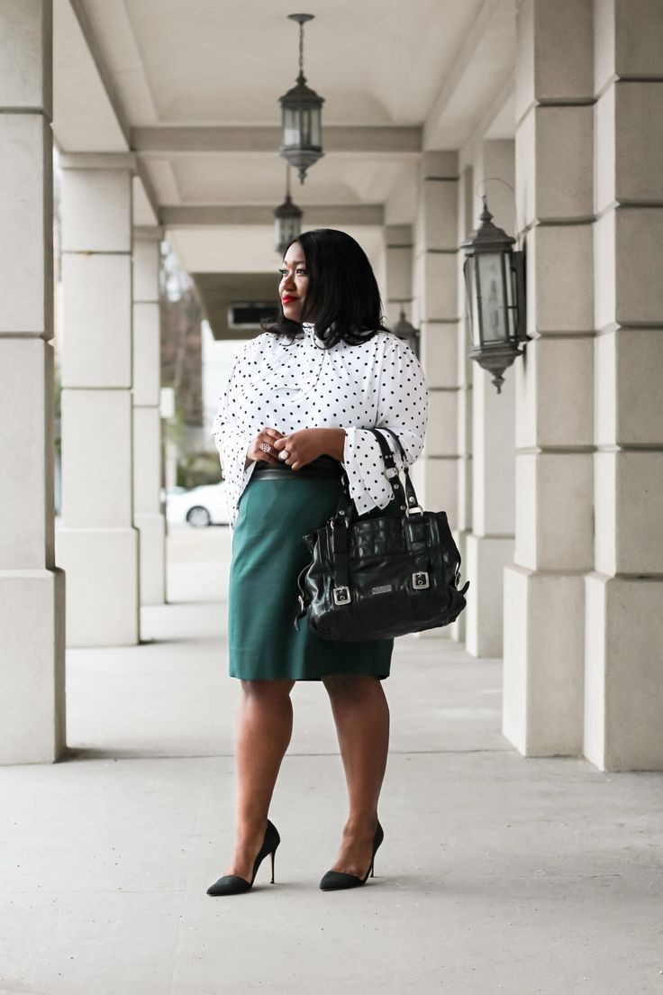 Summer Workwear Plus Size Office Wear