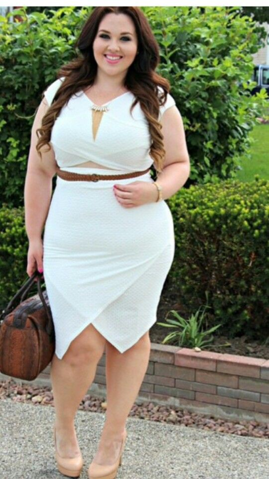 Cute girls most liked plus sized woman, Plus-size clothing