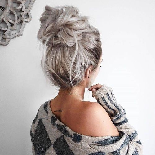 Like or follow), (NULL, in case you find these perfect messy bun, head hair