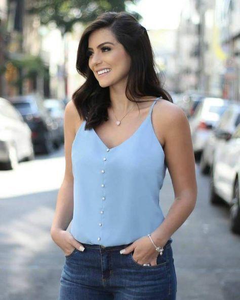 Blusas de mujer juveniles 2019, Casual wear