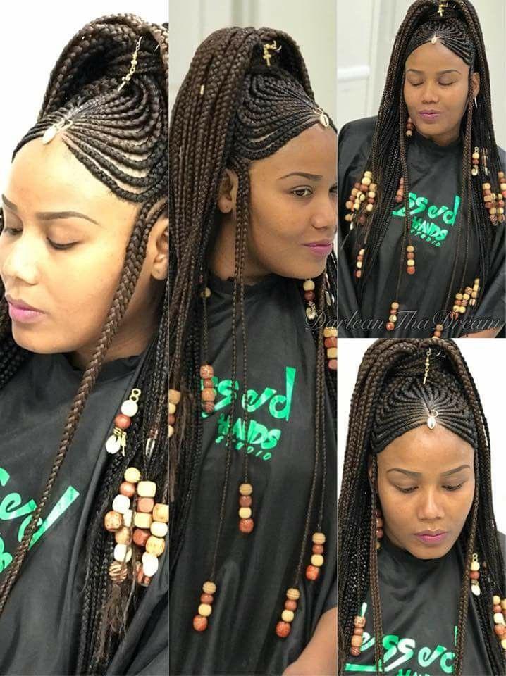 Birthday braided hairstyles for black women | Fulani ...