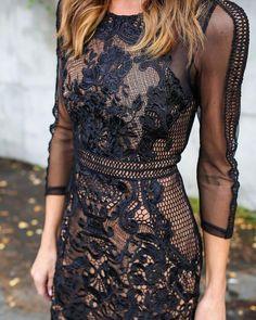 Adorable ideas for forever lace dress, Little black dress
