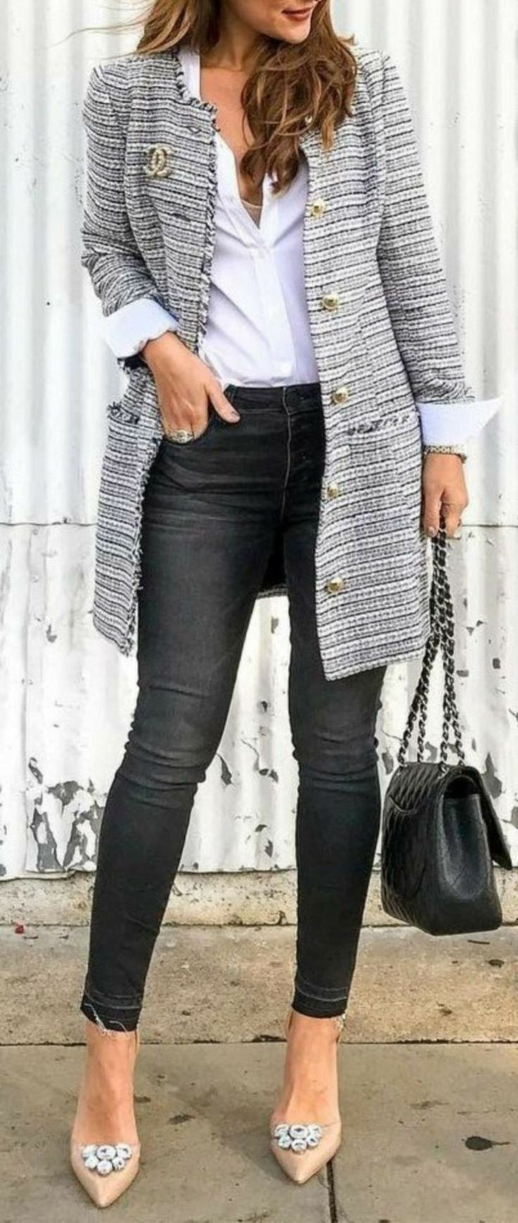 Winter smart casual outfit ideas