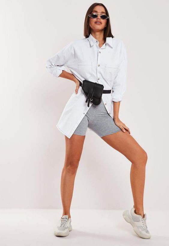 More about fashion model, Cycling shorts