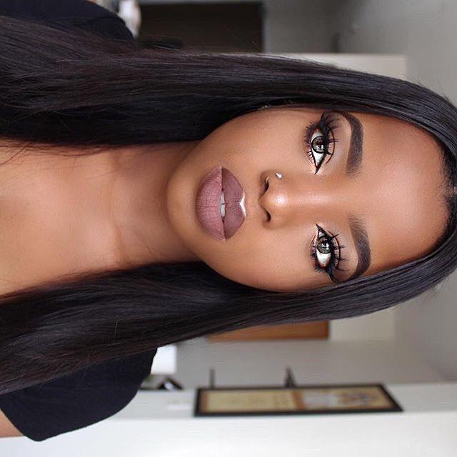 Beautiful Black Women, facial makeup, Skin care