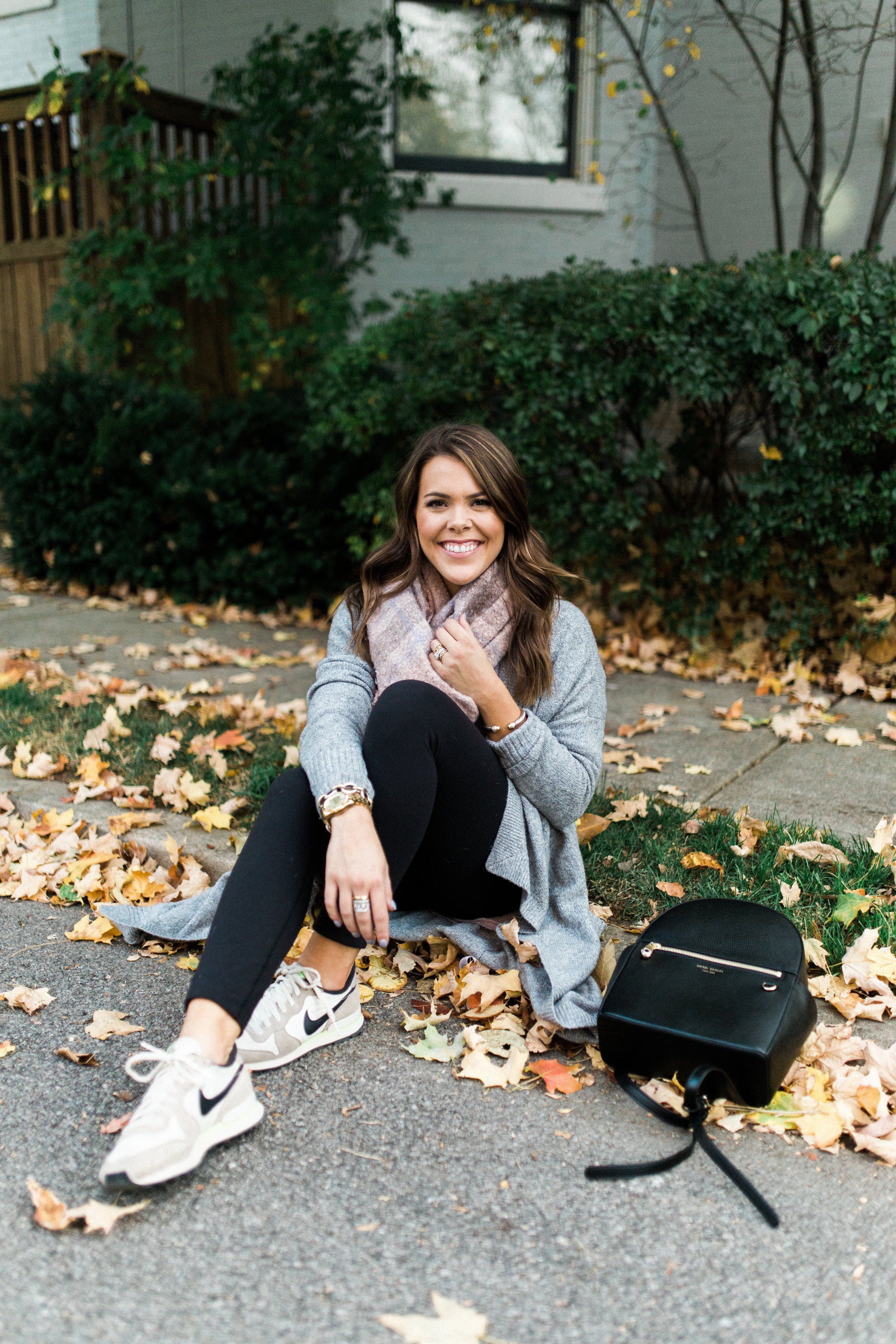 Outfits To Wear With Sneakers, Michael Kors Backpack, Silence + Noise