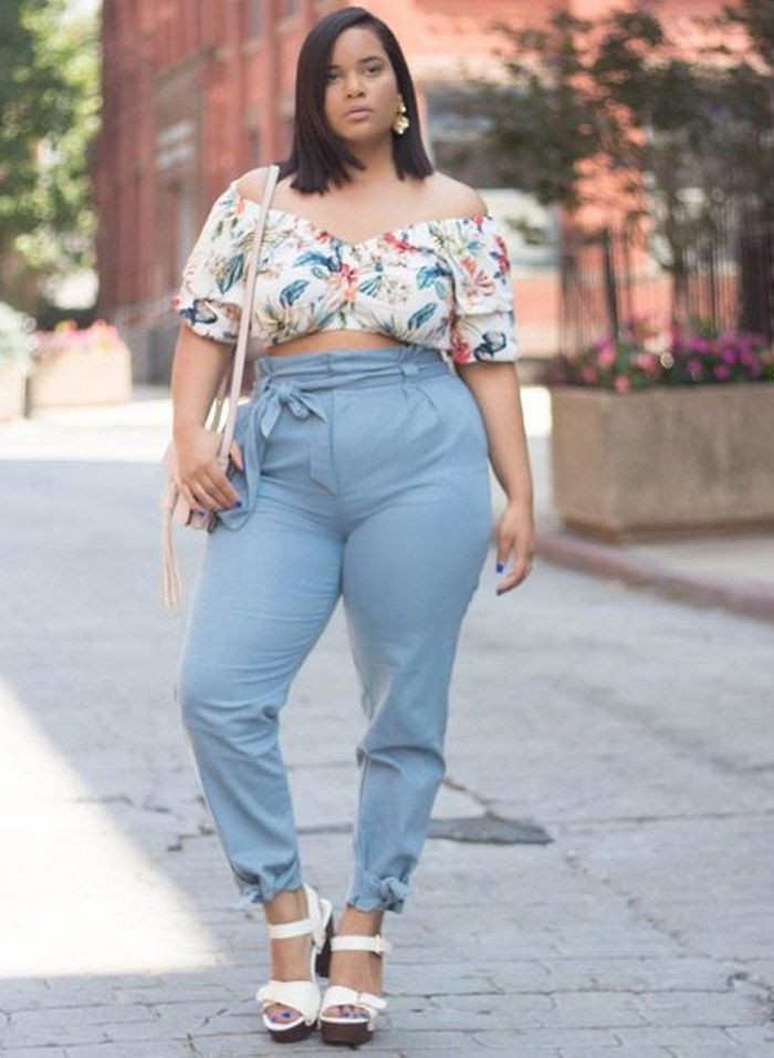 Casual plus size summer outfits