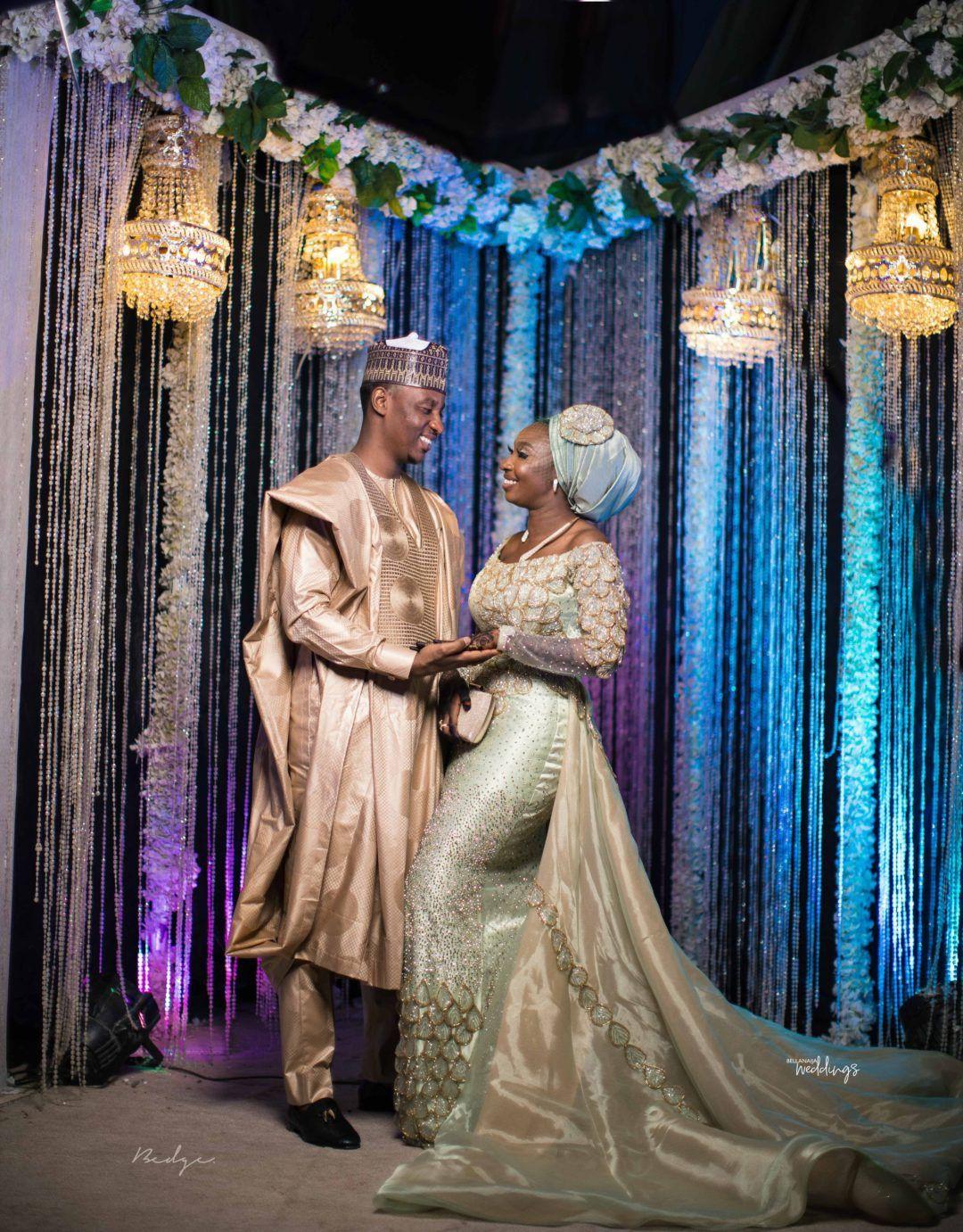 Nigerian Dresses For Nigerian Brides, Wedding reception, White wedding