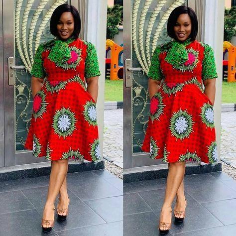 Eye catching 2019 ankara gown styles, African wax prints