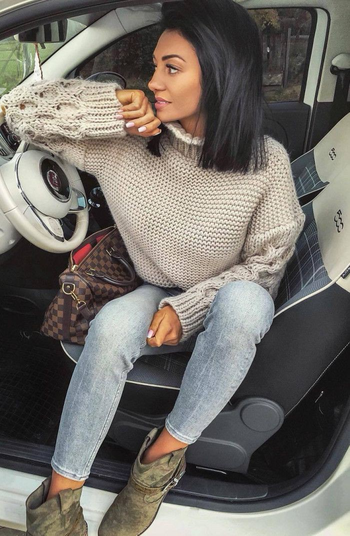Outfit Ideas With Sweaters, Photo shoot