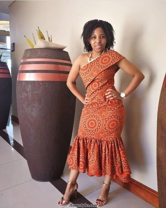 Classy Sotho Patterns For Weddings