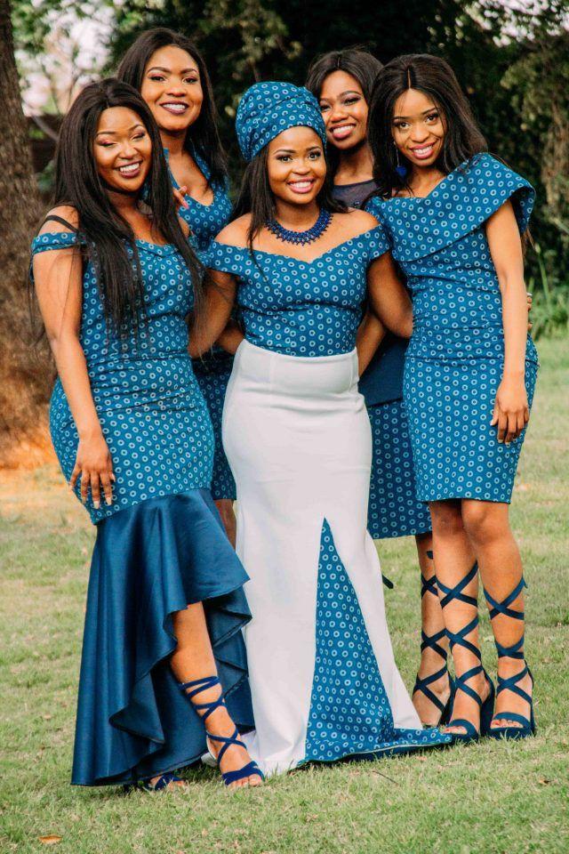 Blonde girls outfit ideas tswana wedding, African prints
