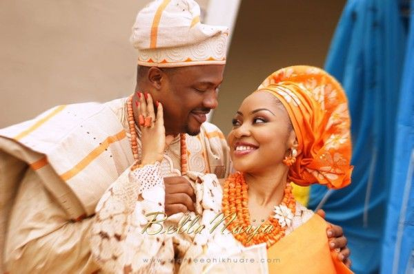 Nigerian Dresses For Nigerian couple, Aso Oke hat
