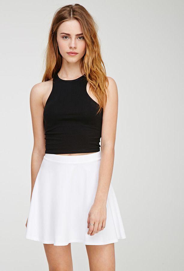 Fashion models forever 21 skater skirts, Skater Skirt