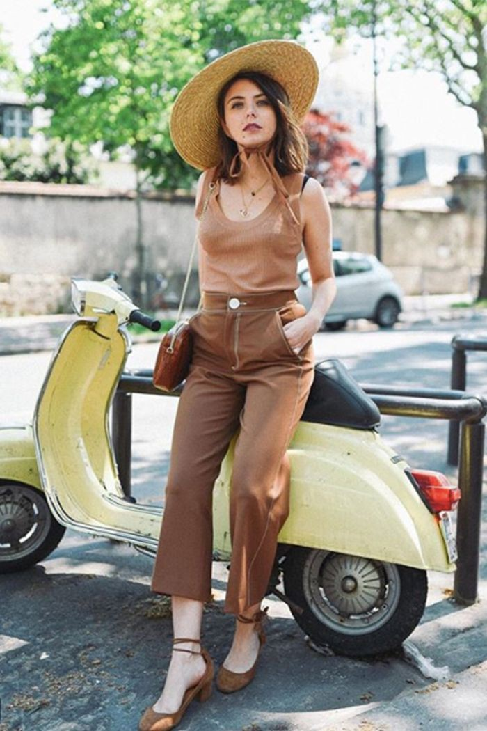 Suggestions for nice and best parisienne hat summer, Straw hat