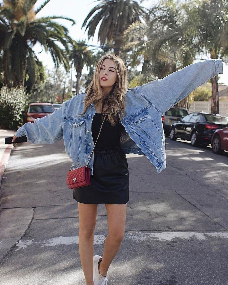 Jean Jacket Outfits Tumblr Summer