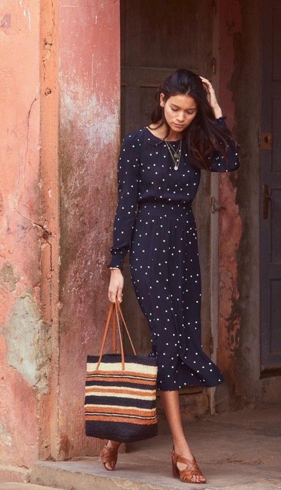 Affordable and elegant robe julia sezane, Sézane
