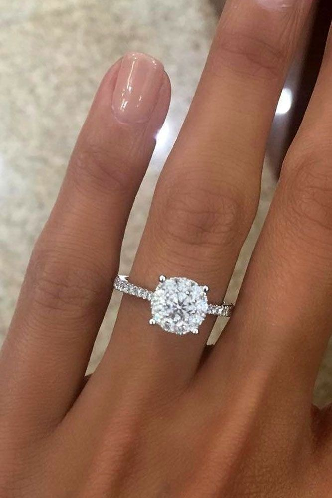 Award winning ideas for best engagement rings, Band Ring