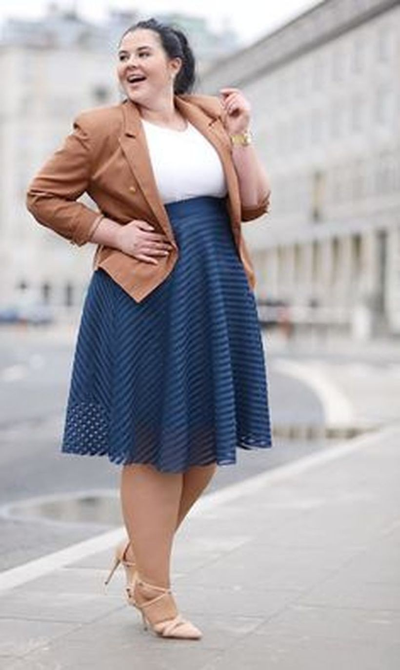 Plus size work outfit, Plus-size clothing