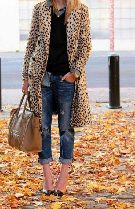 Wear a leopard coat, Animal print