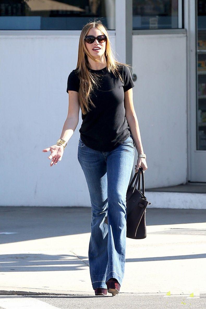 Sofia vergara flare jeans, Fading Gigolo