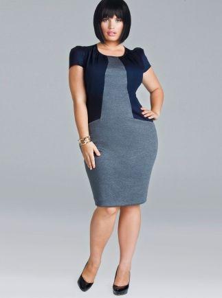Designer plus size work dresses