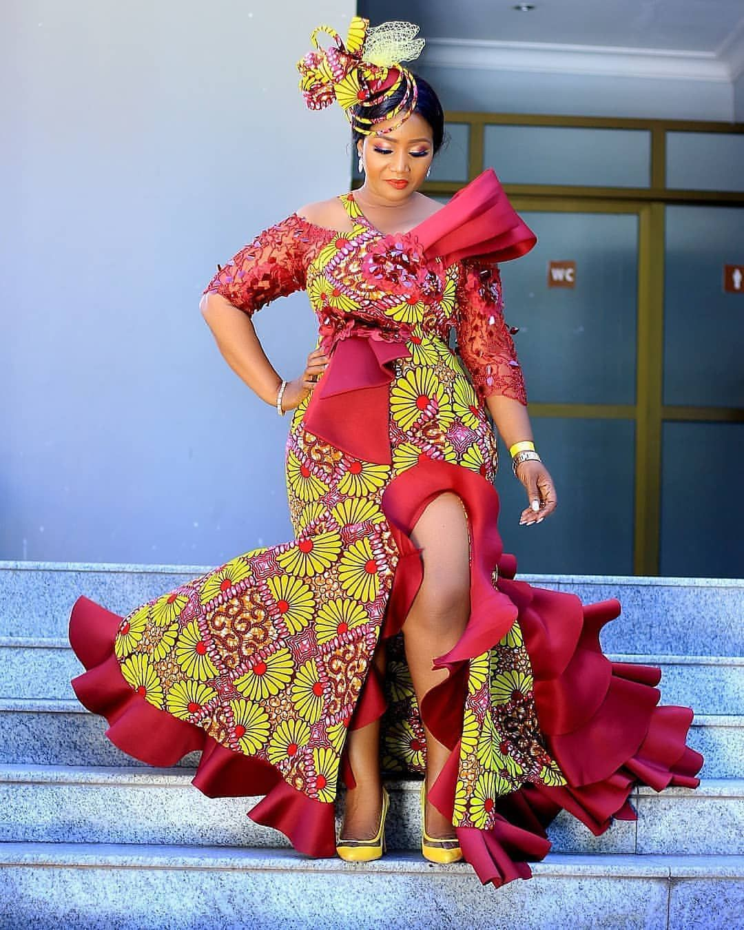 Trendy African Ankara Dress Styles 2020