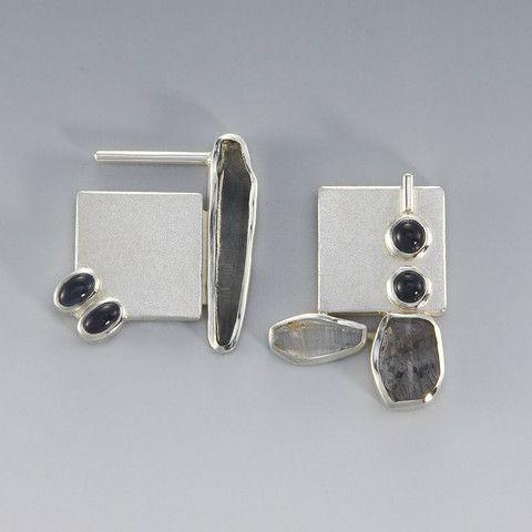 Asymmetrical Earrings Ideas Sterling