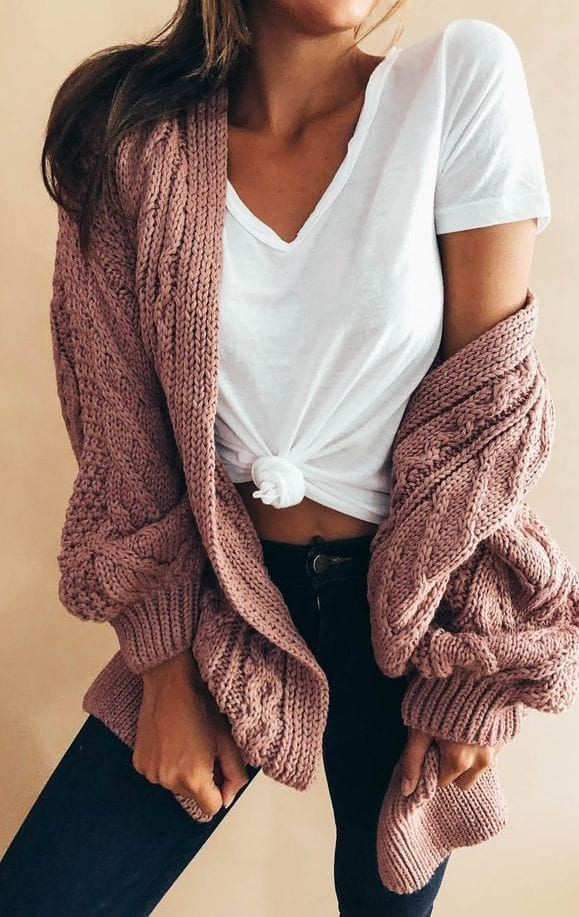 Gorgeous cute cardigan outfits, Casual wear