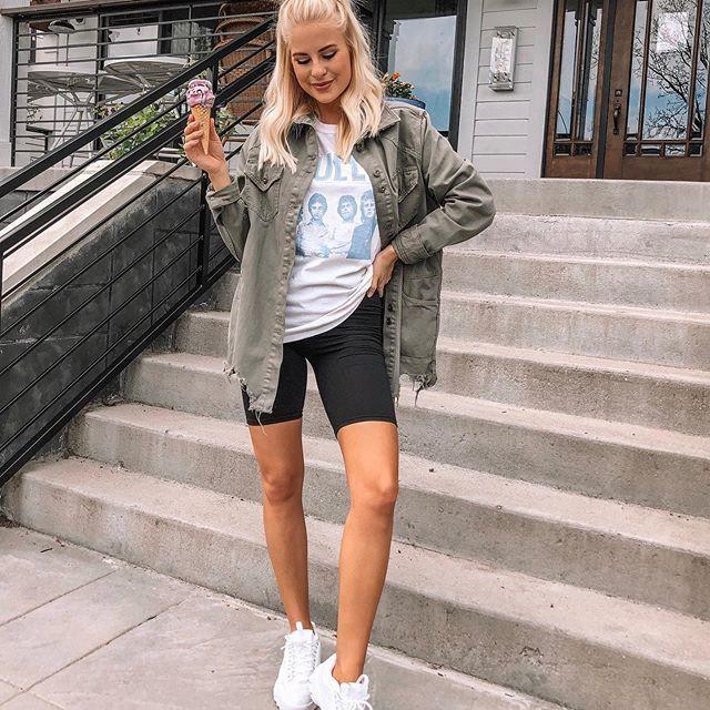 Bike Shorts Trend For Women