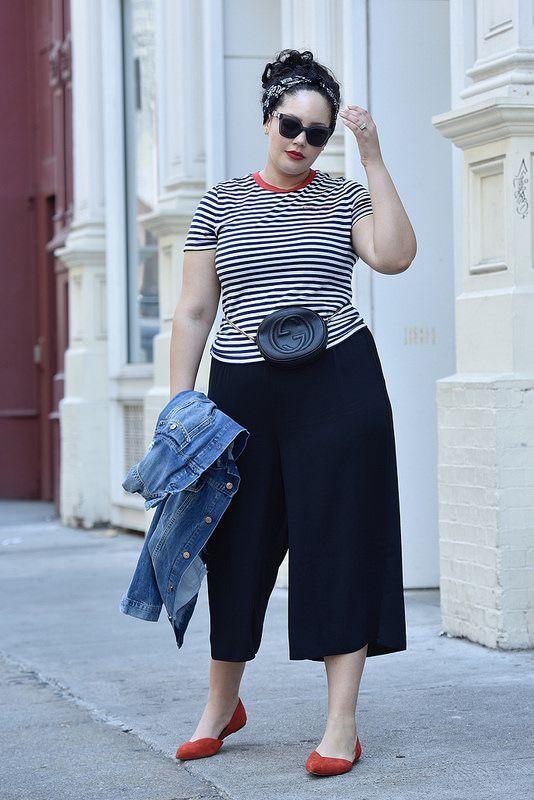 Square pants for plus size
