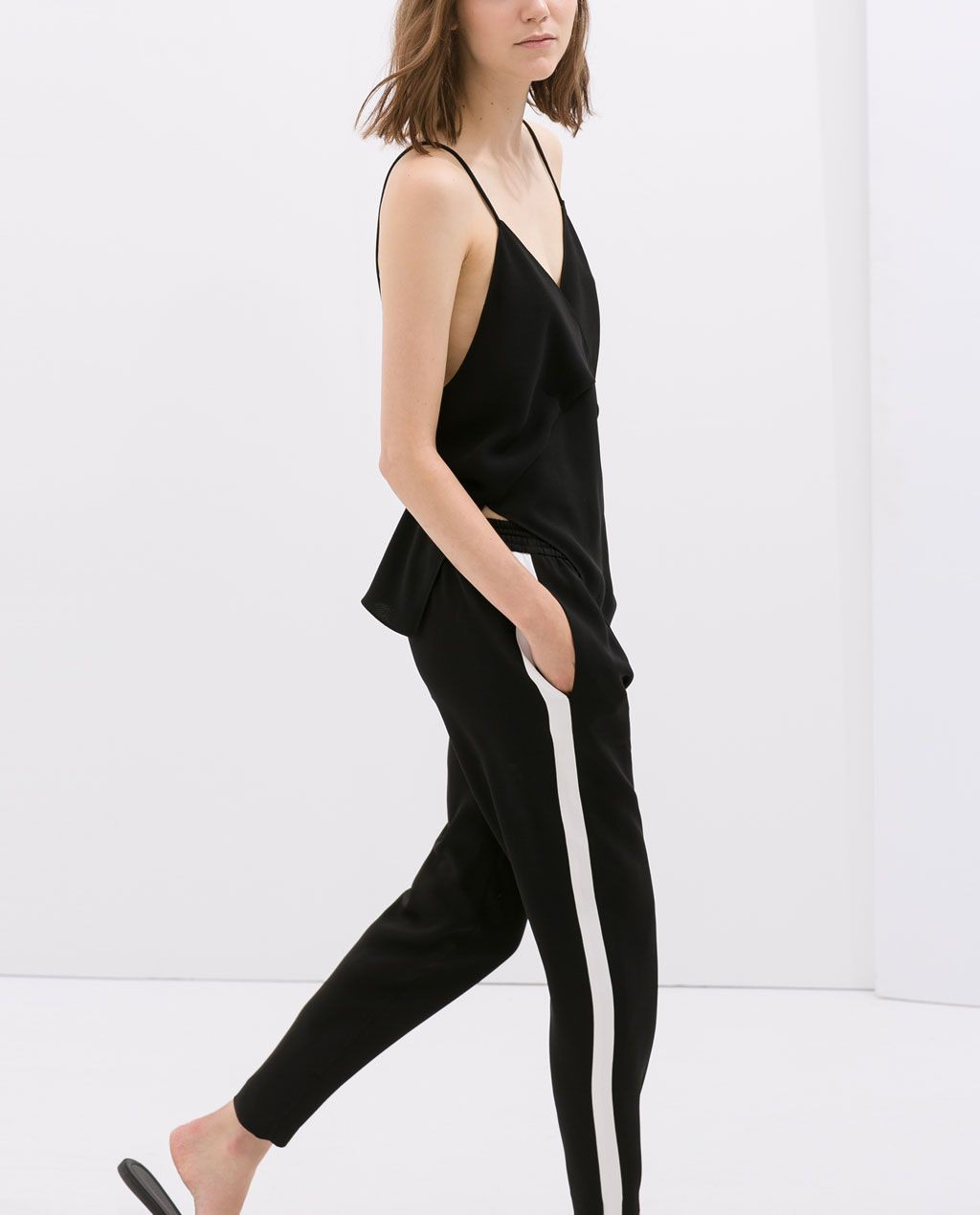 Spodnie z lampasem zara, Formal wear