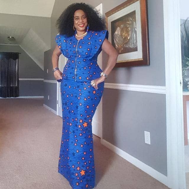 Latest Kaba And Slits Styles, African wax prints, Formal wear