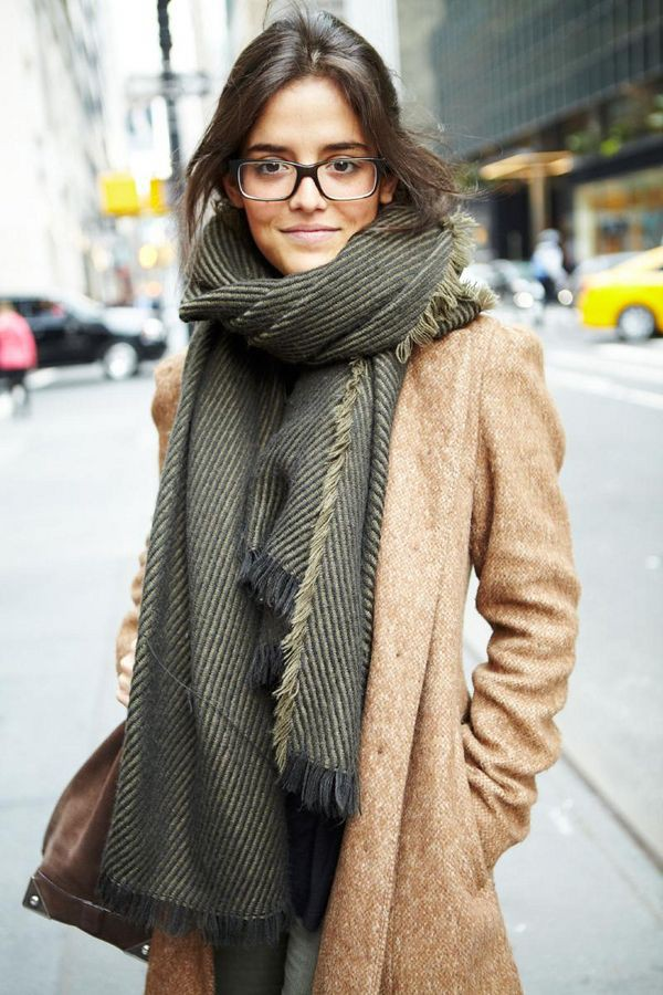 Nice and perfect ideas for winter scarf fashion, Winter clothing