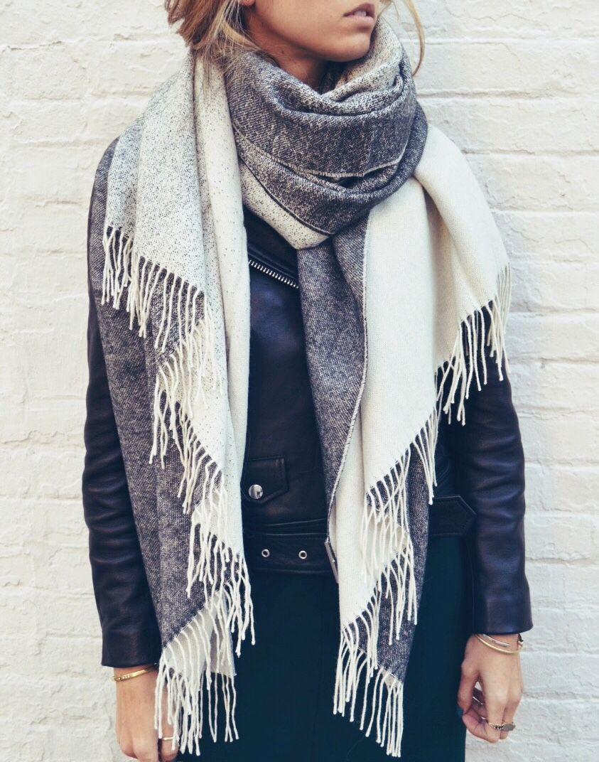 Get my style xxl schal binden, Fashion accessory