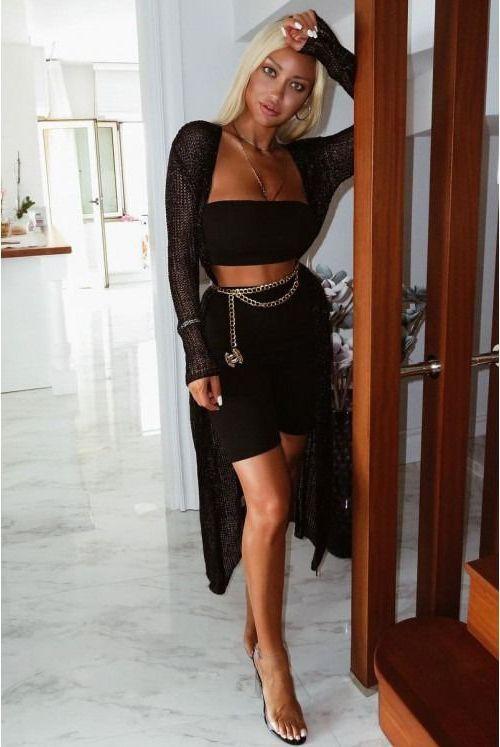 Valuable ideas for hottest celebrity cougars, Little black dress