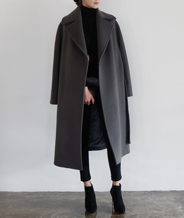 Award winning ideas for siyah uzun manto, Long Trench Coat