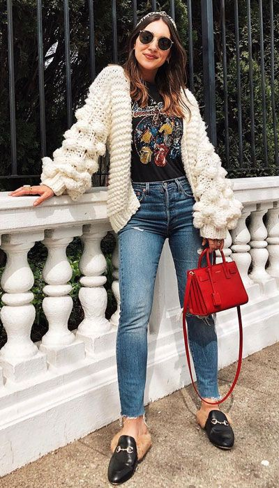 Holiday Outfit Ideas For Women, Casual wear, Wide-leg jeans