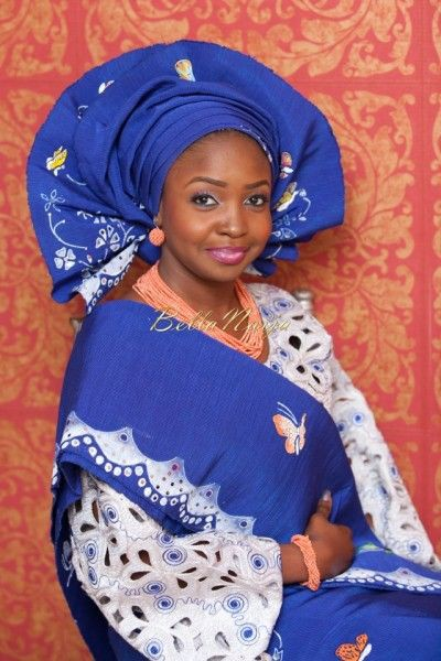 Nigerian Head tie Dresses For Nigerian Brides, Yoruba people