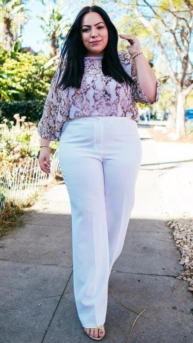 Plus Size Pants For Curvy Women, Little black dress, Plus-size clothing