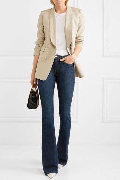 Jeans bootcut vita alta, Casual wear