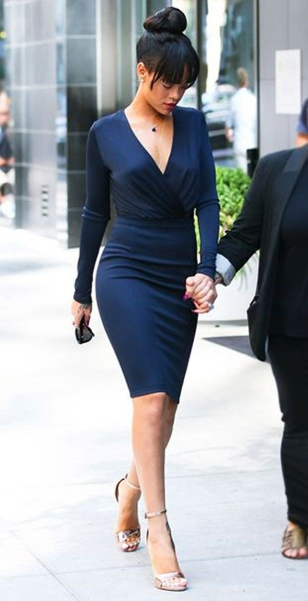 Check out these stylish rihanna outfit july 6, Little black dress