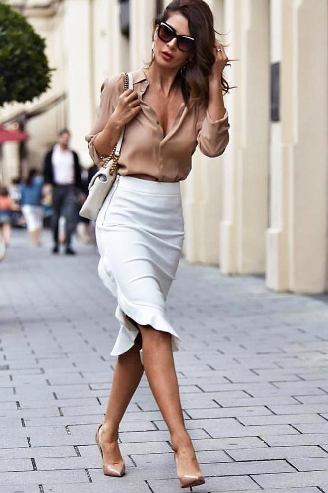 Elegant style women summer outfits, Casual wear