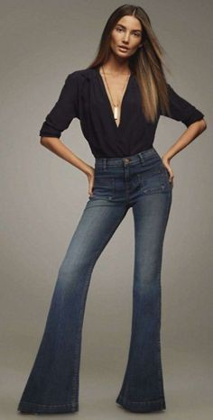 Lily aldridge flare jeans, Lily Aldridge