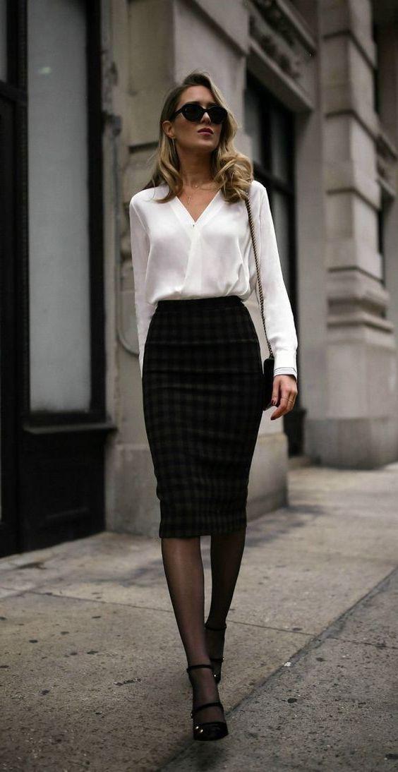 Choose these fashion model, Spódnica midi