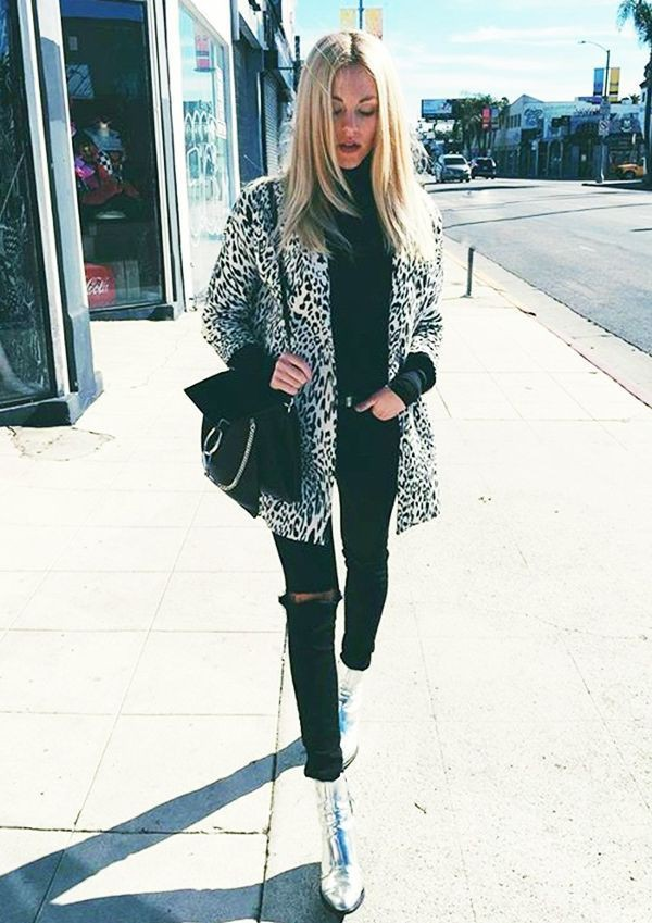 Outfits With Leopard Print Jackets, Keep Things Simple