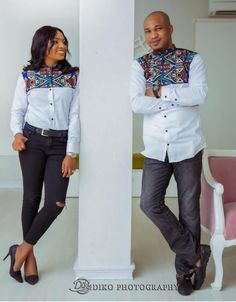 Latest Senator Styles For Couples, African wax prints, Casual wear