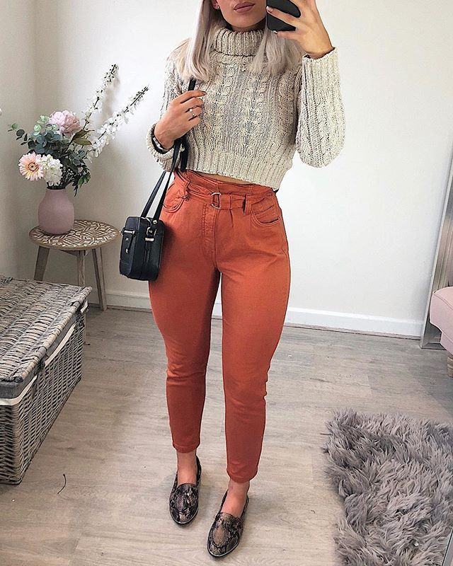 Cute Outfit Ideas For Teenage Girl, Isabel Garcia, Polo neck