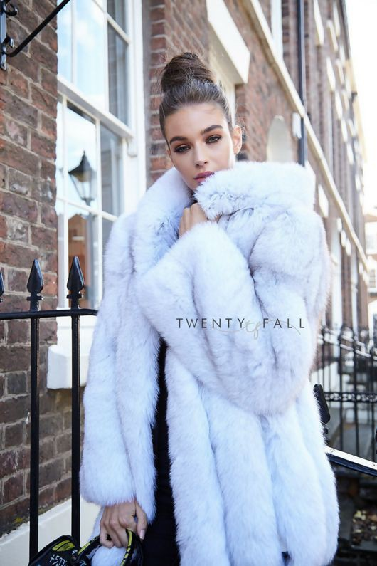 Photos of choice fur clothing, Arctic fox